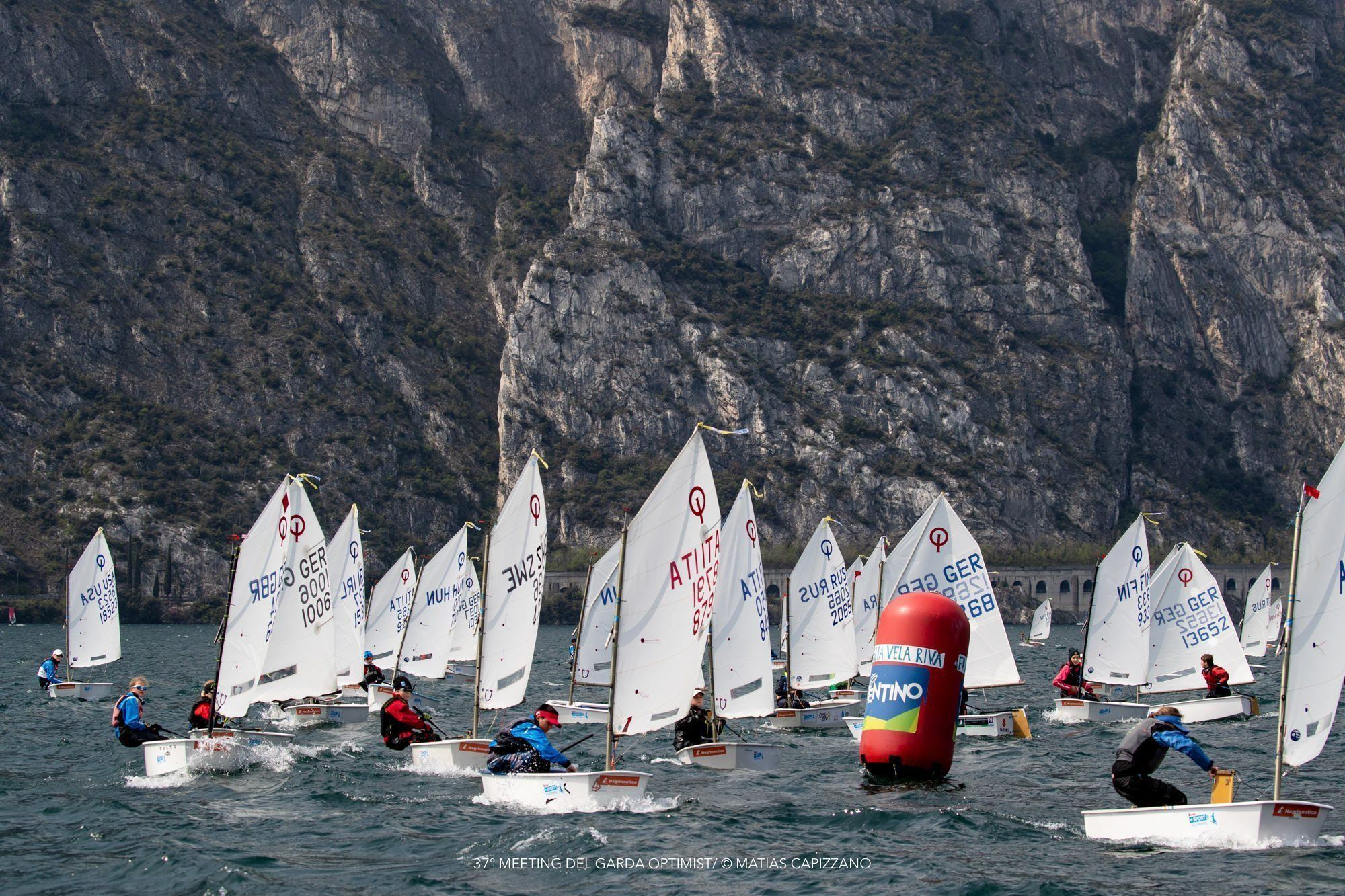 37° MEETING DEL GARDA OPTIMIST© Matias Capizzano